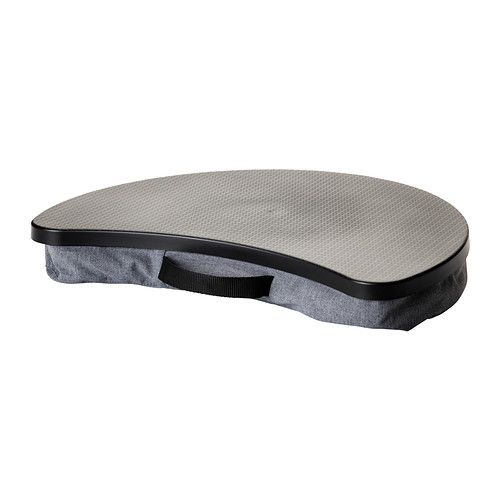 BYLLAN Soporte para ordenador portátil - Vissle gris/negro, - - IKEA