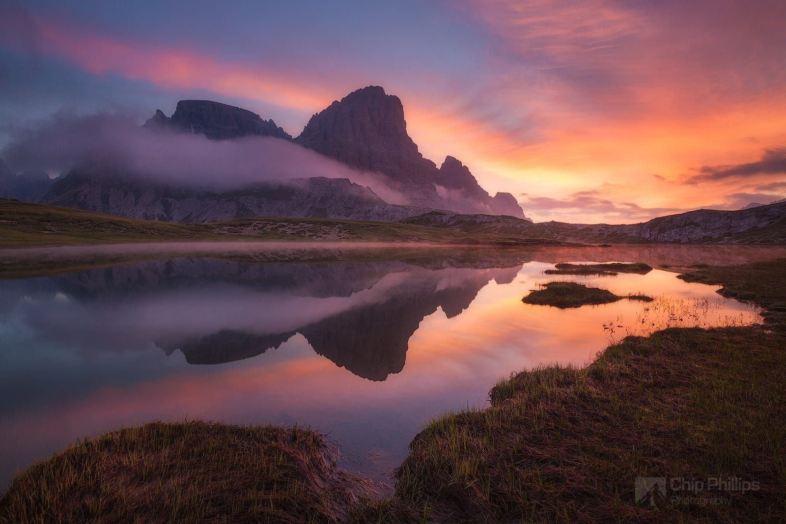 Dolomites Tarn At Sunrise By Chip Phillips On 500px With Images Landscape Photography Landscape Scenery