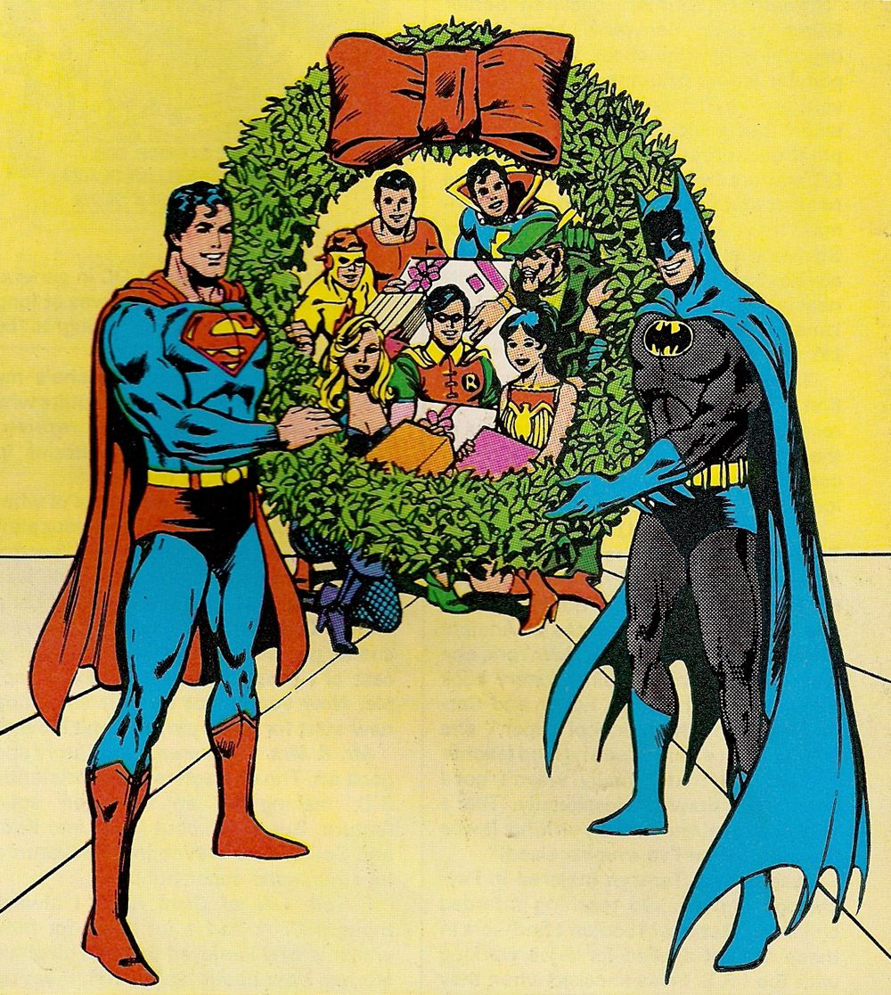 Batvent! Christmas Bonus! Batman and Superman again! Merry Christmas ...