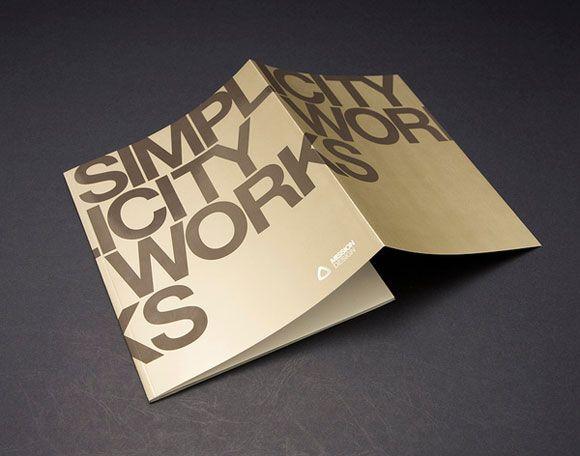 40 Unique and Beautiful Examples of Brochure Design | Brochures ...