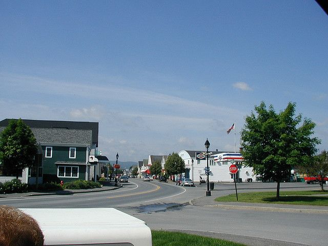 Downtown Fort Kent Maine Fort Kent Maine Aroostook County