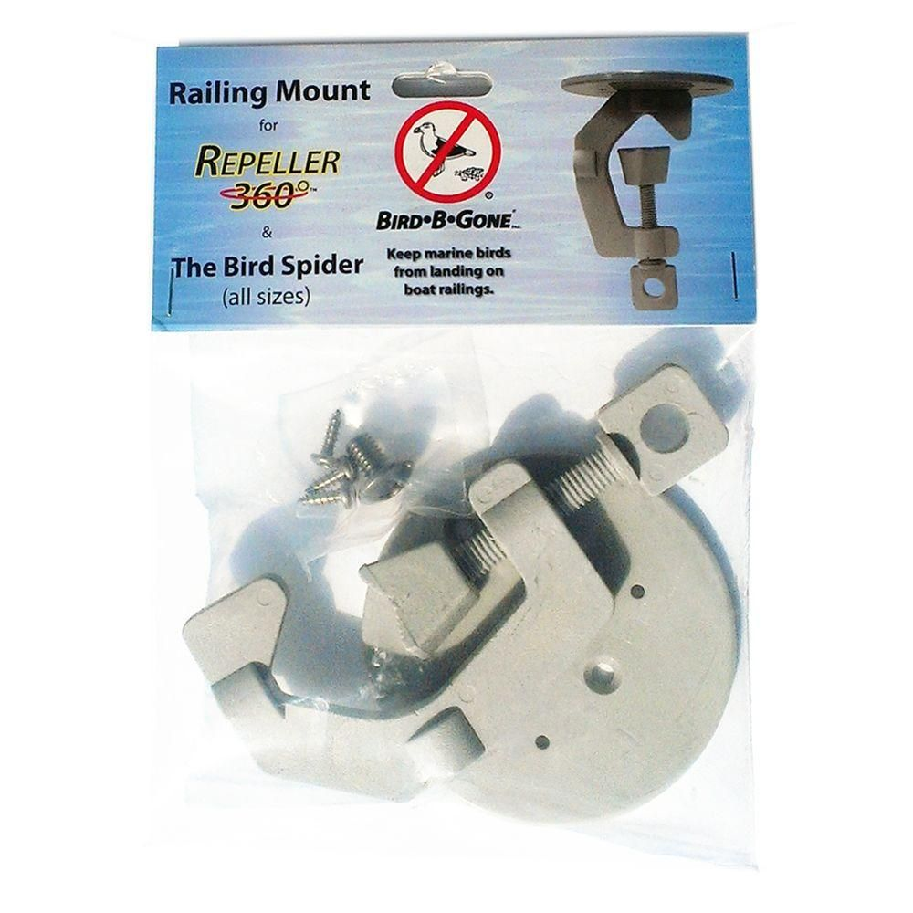 Bird Spider 360 and Repeller 360 Railing Mount