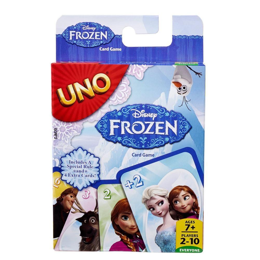 Disney frozen uno uno card game card games disney frozen