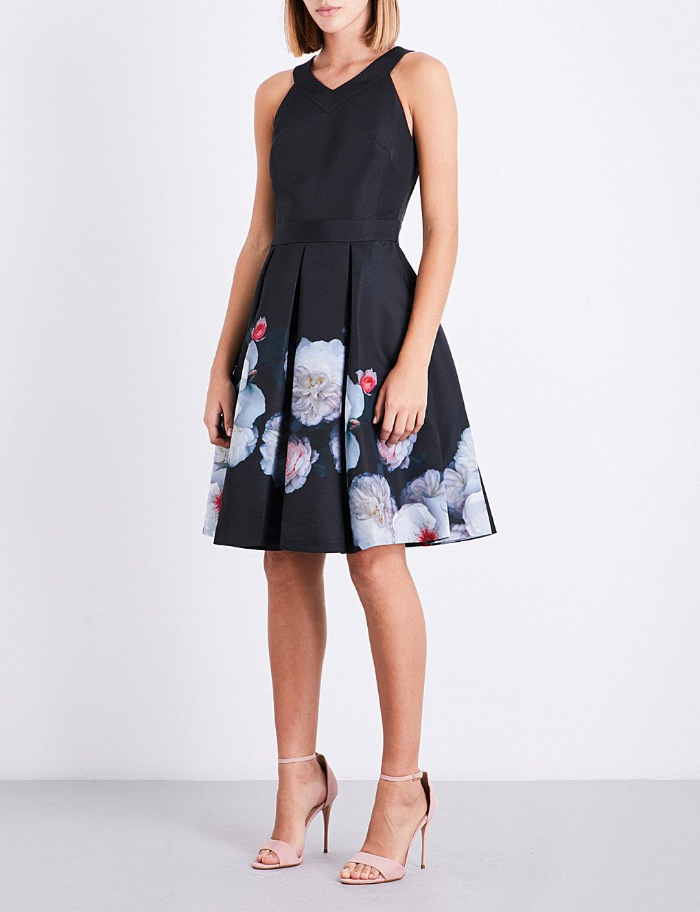 7eee2fd78b8a7 TED BAKER - Jelina Chelsea Black-print dress