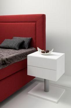Nachtkommode Diego Weiß Möbel Nachttisch Schlafzimmer