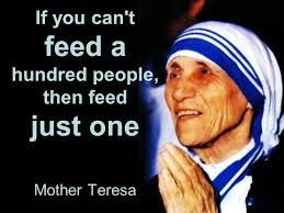 WEEK 11 : Leading with character. I have used this picture because I think that Mother Teresa was a leader with character and displayed a lot of the virtues that aristotle referred to.
