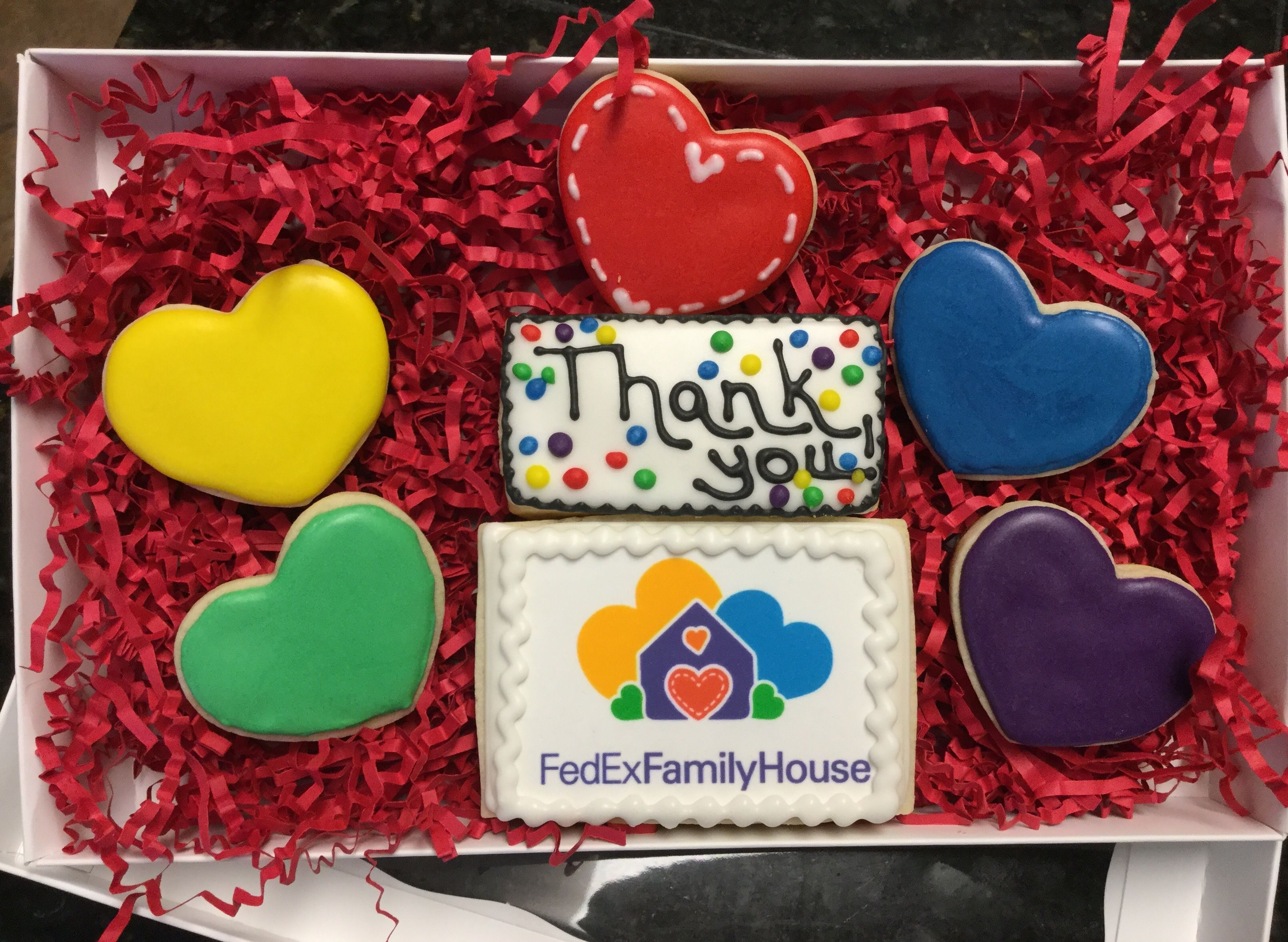 Fedex Family House Thank You Decorated Sugar Cookies By I Am The
