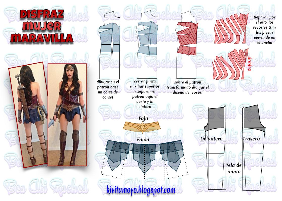 KiVita MoYo : DISFRAZ DE LA MUJER MARAVILLA | Costumes | Pinterest ...