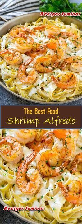 ★★★★★ 768 Reviews : Recipe Suminar  ==>Shrimp Alfredo - -