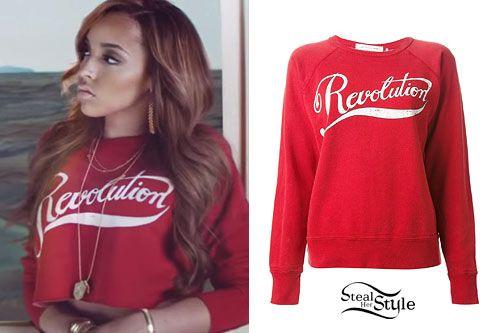 Tinashe   Pretend  Music Video Revolution Sweatshirt Tinashe c4eee4f20