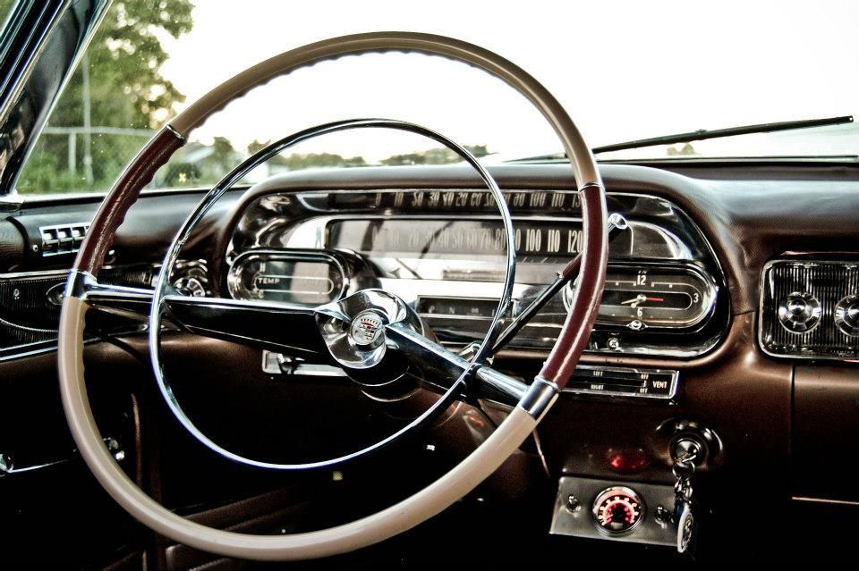 vintage dash 1958 cadillac coupe de ville cars of 50 39 s pinterest cadillac wheels and cars. Black Bedroom Furniture Sets. Home Design Ideas