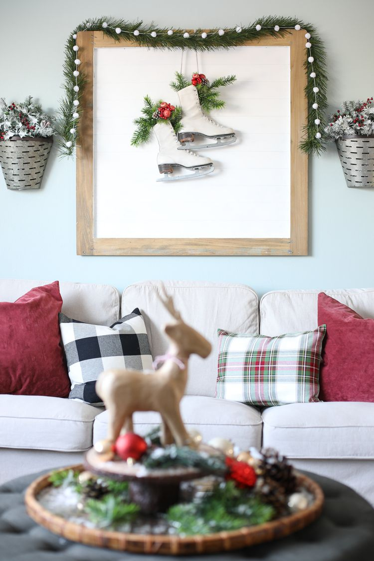 cozy farmhouse christmas decorating ideas