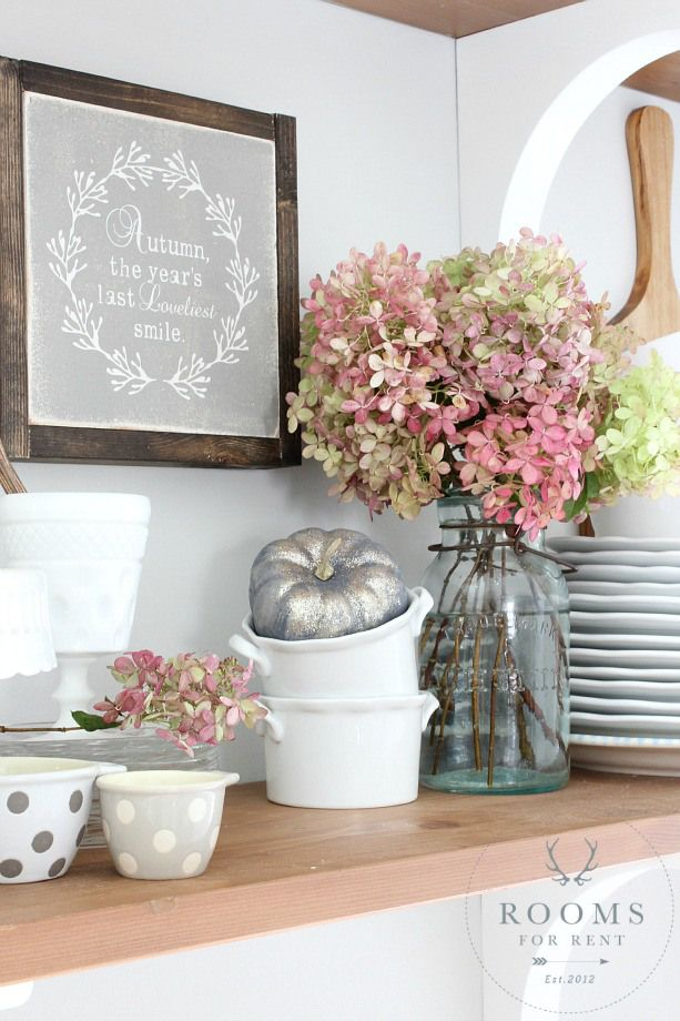 Fall Vignettes - Seasons of Home \u002715 Rooms FOR Rent Blog Kitchen - halloween decoration rentals