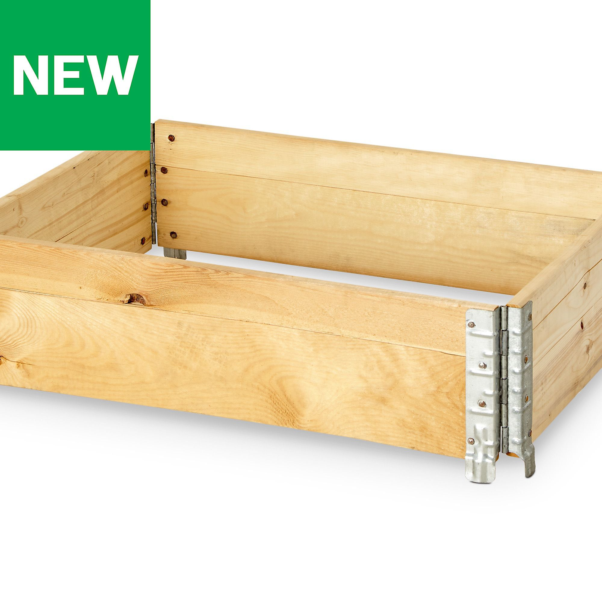 Verve Pine Small Stackable Raised Bed (H)200Mm (W