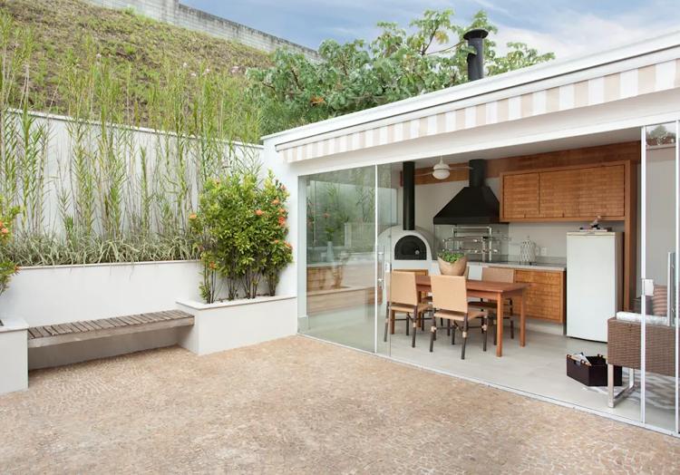 Die Perfekte Gartenküche Bauen U2013 70+ Bilder Und Ideen Für Ihre Eigene  Sommerküche #bauen