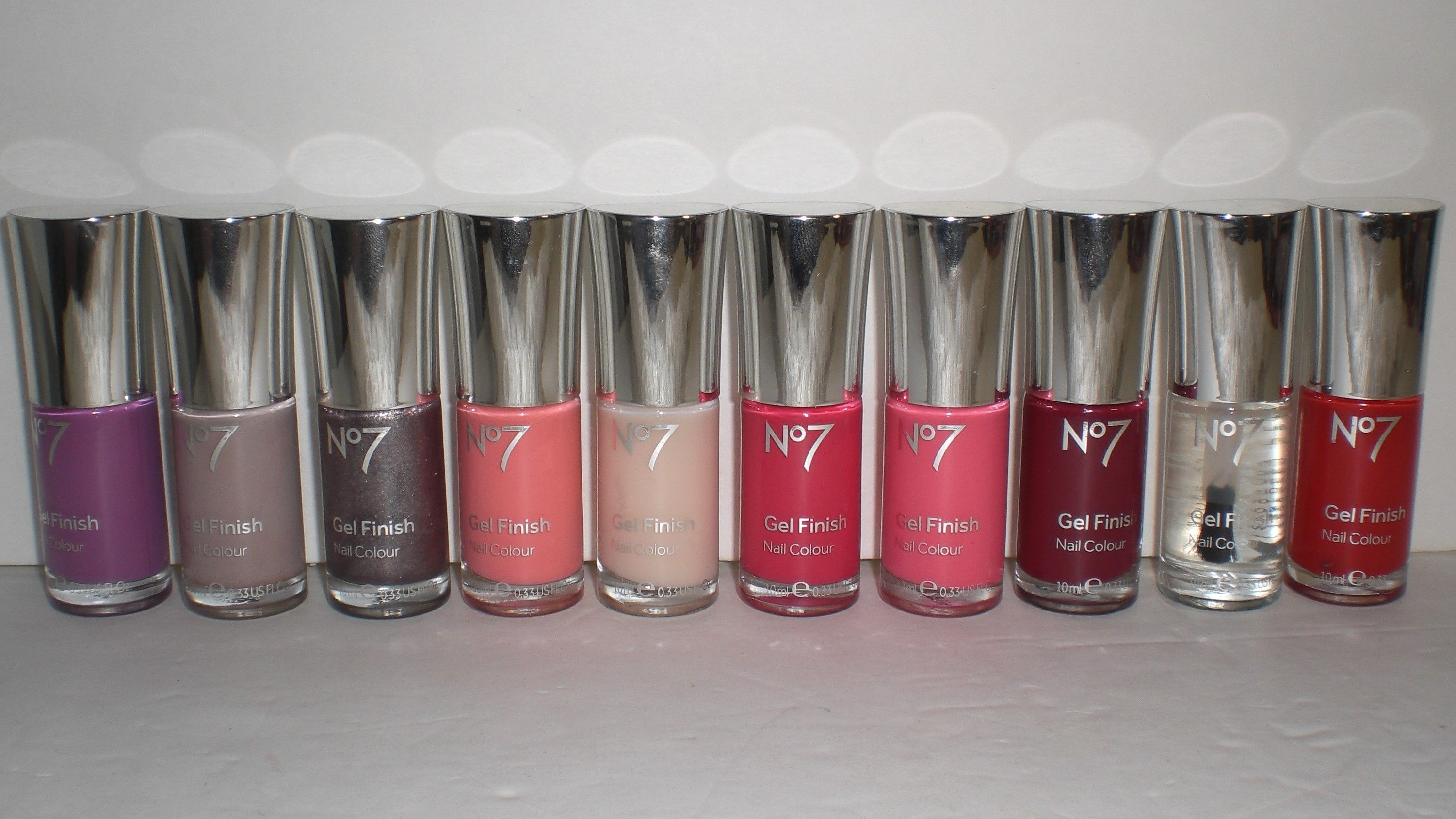 Boots No7 Gel Finish Nail Colour Polish Assortment Lot Of 10 Different Colors Colors Included Purple Bouquet Porcini Mo Selling On Pinterest Boots No7 Gel