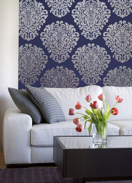 moroccan design inspiration on living room walls with stencils and rh pinterest ca
