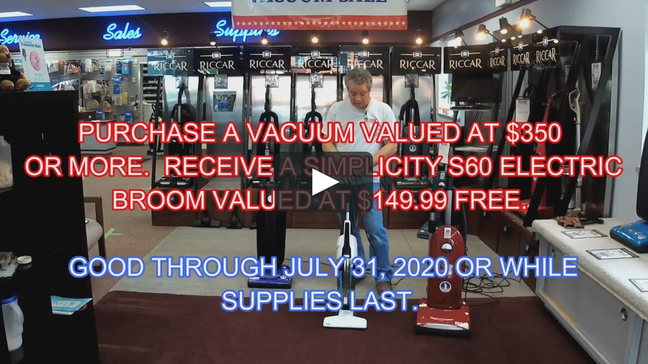 Check Out Our Gift With Purchase During The Month Of July We At Al S Vacuum Are Celebrating America S 244th Birthday Wit In 2020 Vacuums Riccar Vacuum Electric Broom