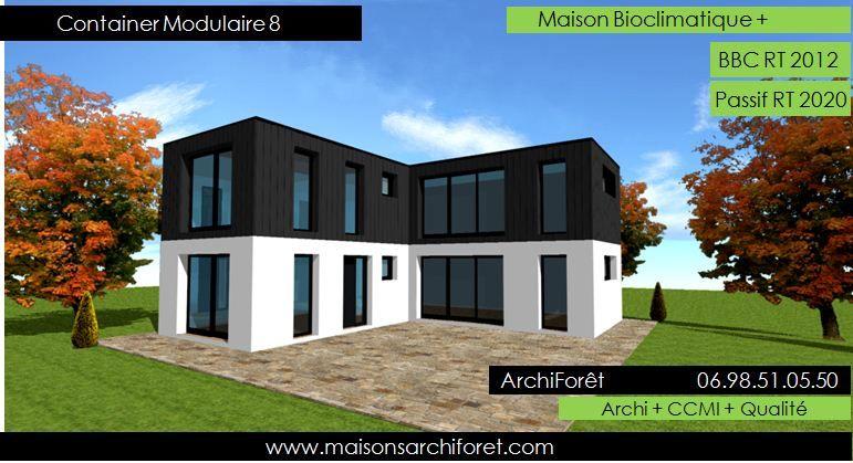 Maison Toit Plat Et Toiture Terrasse Bac Acier Ou Siplast Acrotere Et Couvertine Par Votre Architecte Cons Maison Toit Plat Toiture Terrasse Terrasse Toit Plat