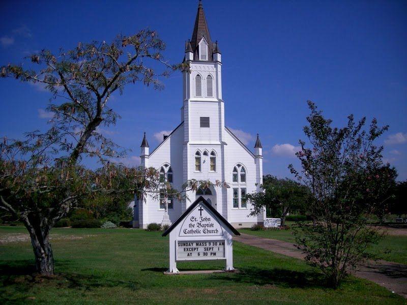 St John The Baptist Catholic Church Texas Hill Country