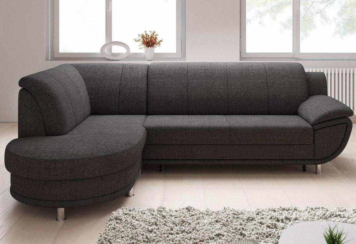 Ecksofa Wahlweise Mit Bettfunktion Ecksofas Couch Mit Schlaffunktion Und Sofa