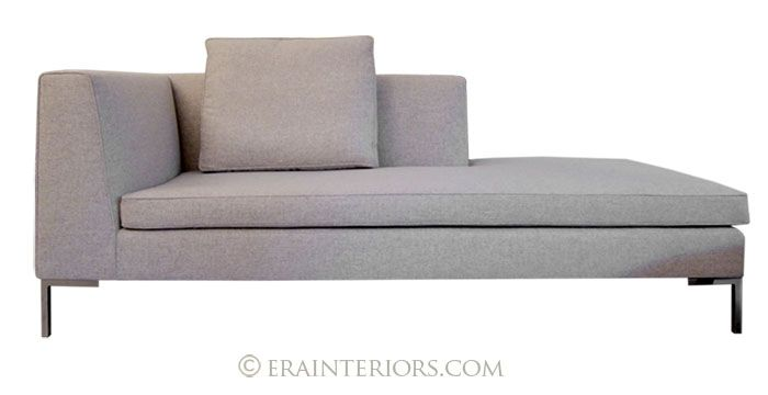 Custom Contemporary Lounge Chaise With