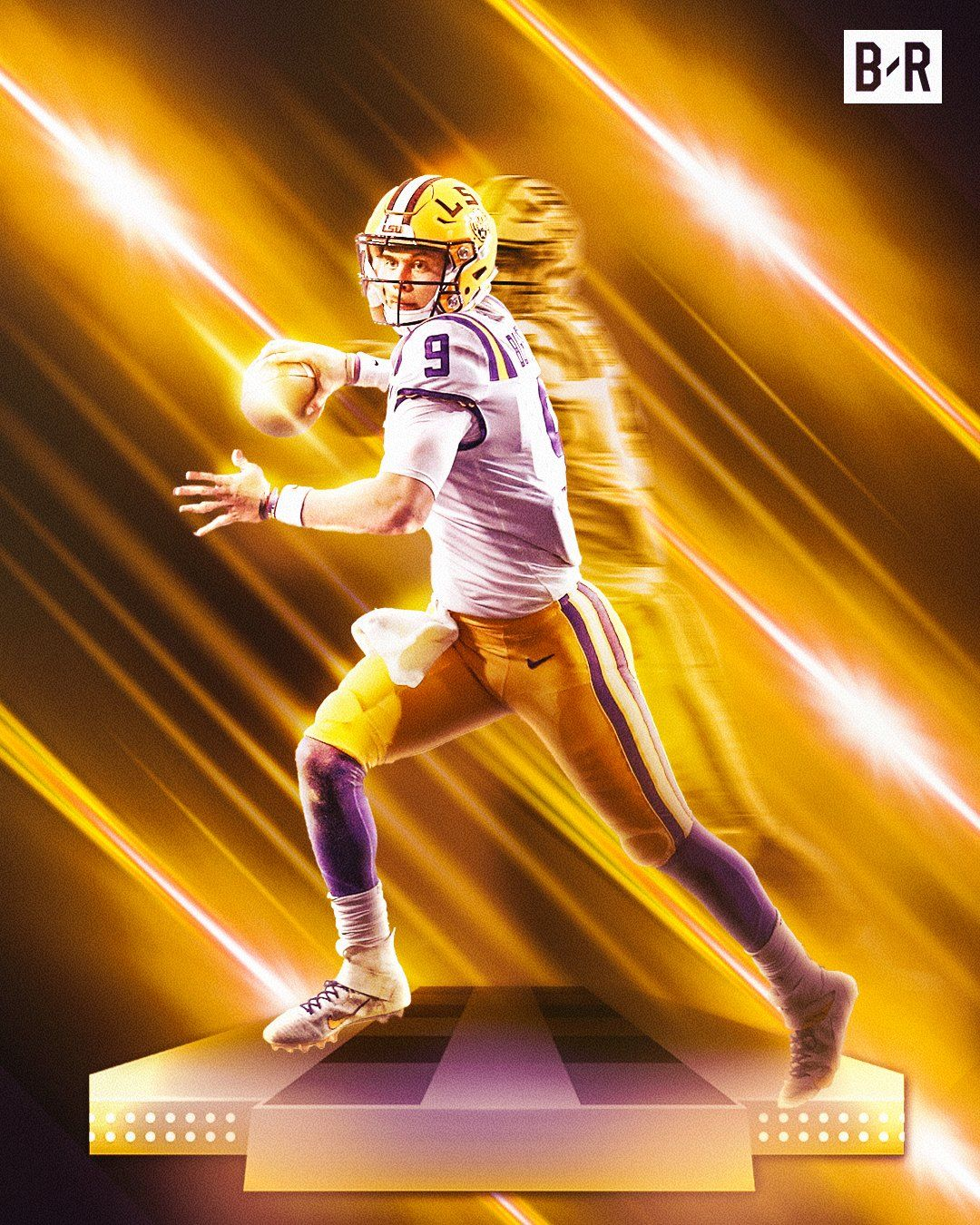 Bleacher Report on Lsu tigers football, Lsu, Joe burrow