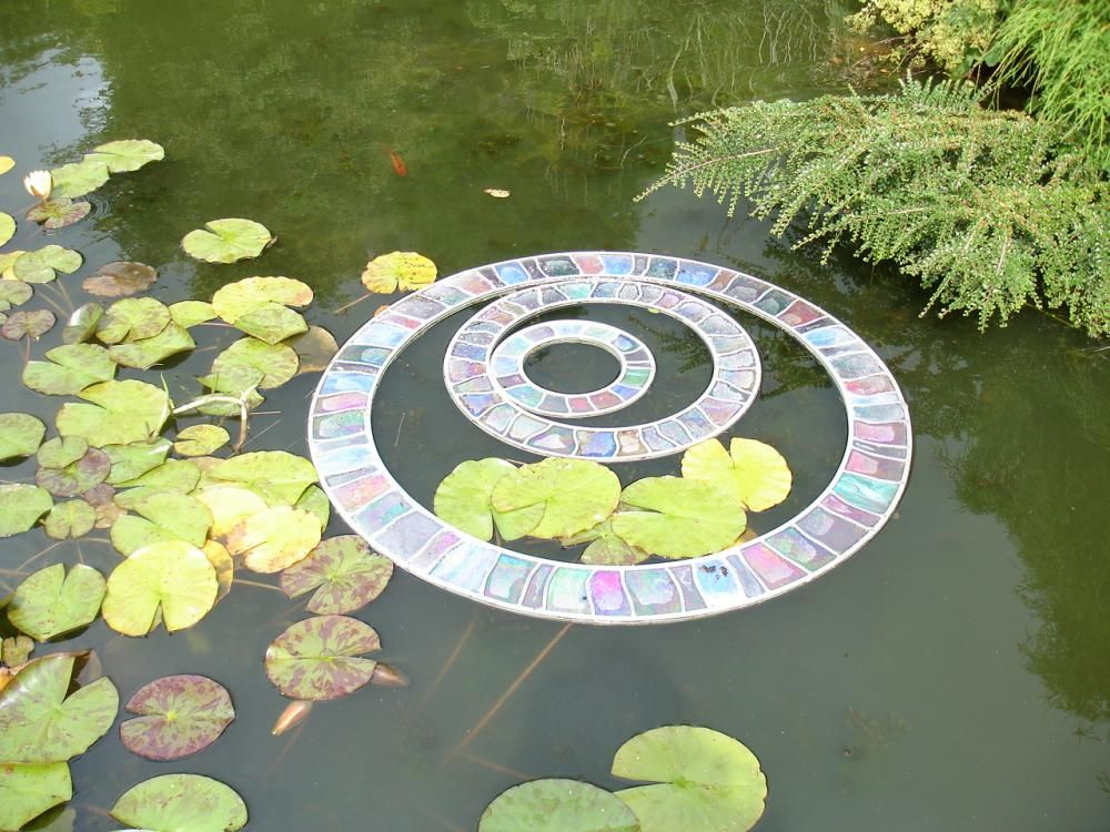 Circles in the pond_Sculpture Exhibition