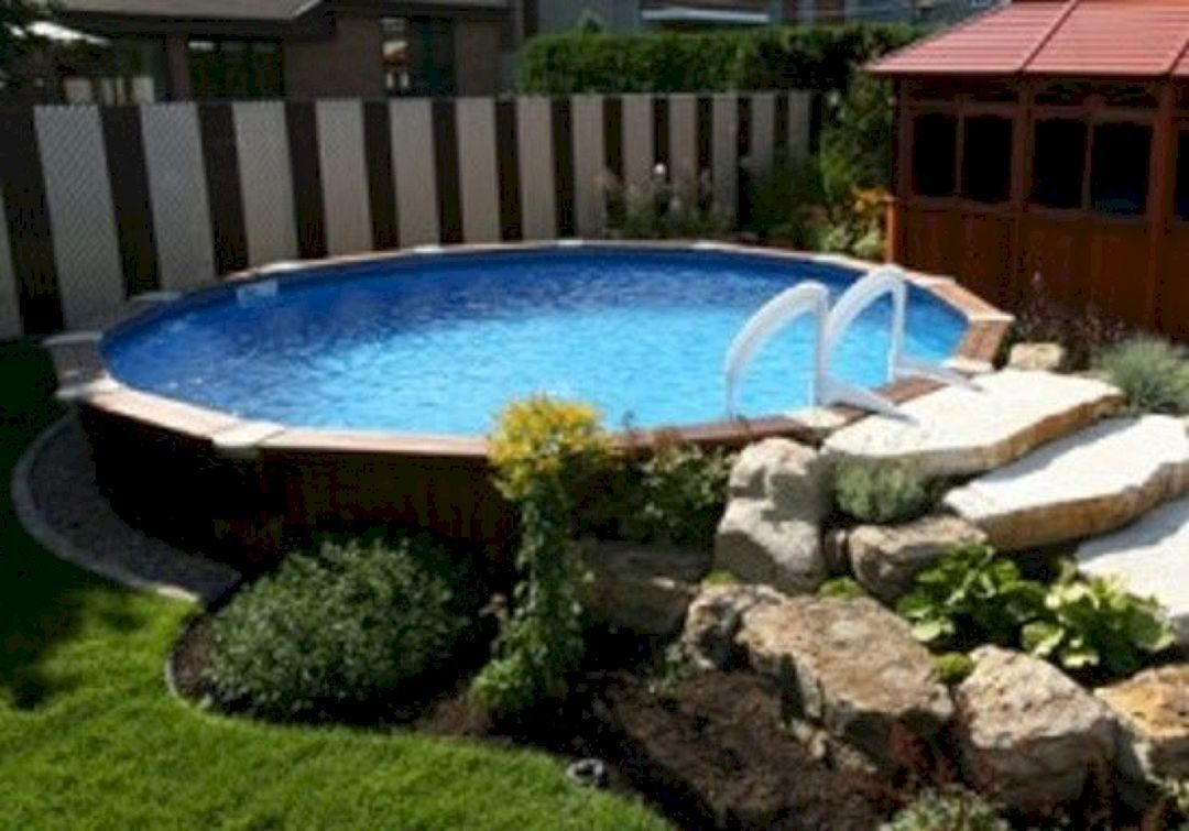 Top 108 Diy Above Ground Pool Ideas On A Budget Above Ground Pool Landscaping Pool Landscaping In Ground Pools