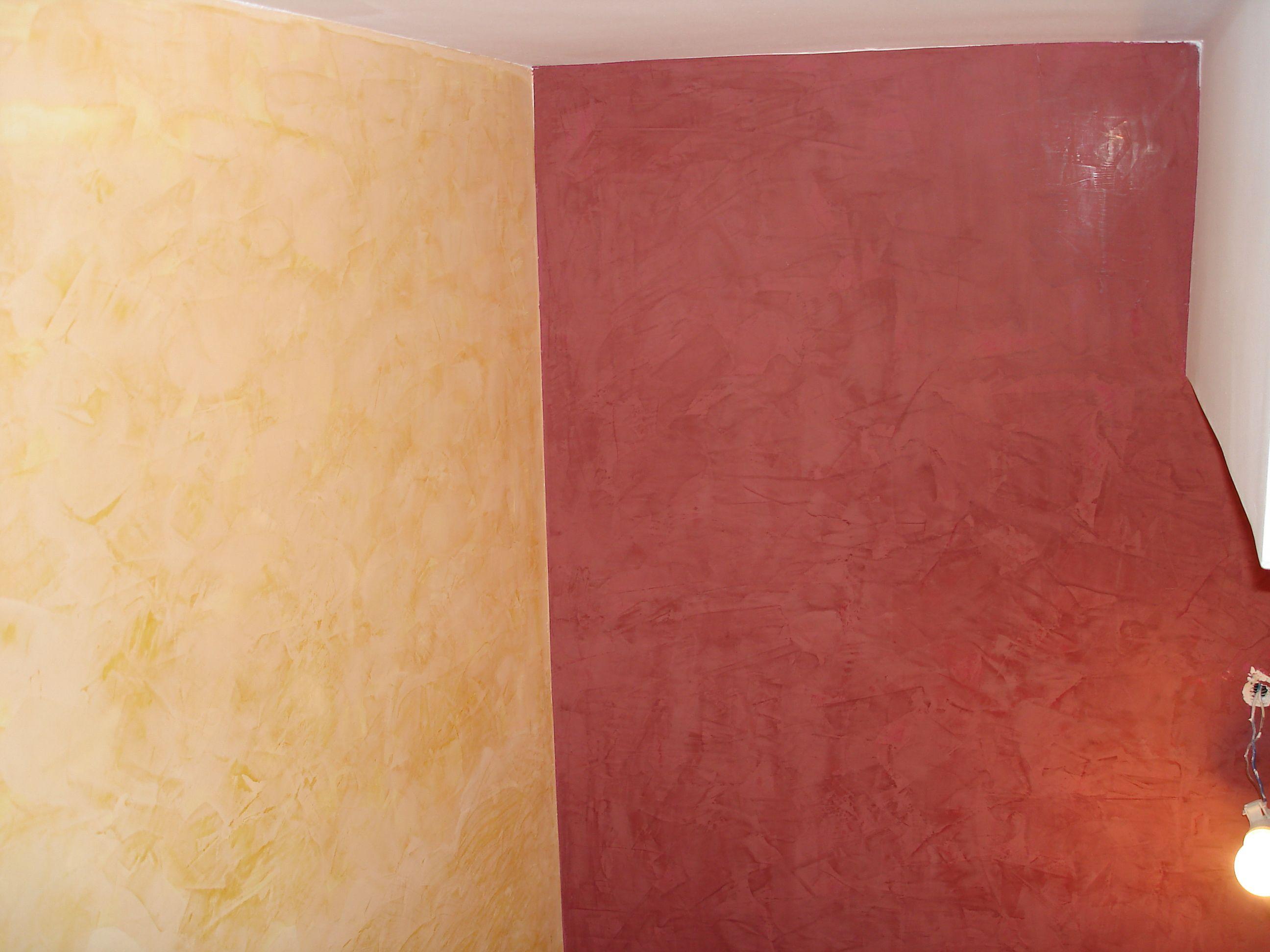 Dos paredes de estuco en tonos diferentes ideas para el - Tonos de pintura ...