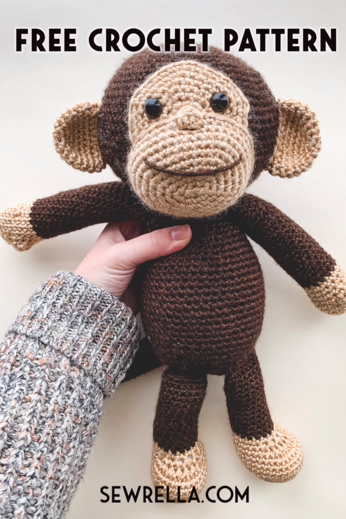Photo of Crochet Monkey Free Pattern