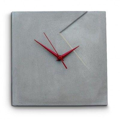 שעון שקע מבטון