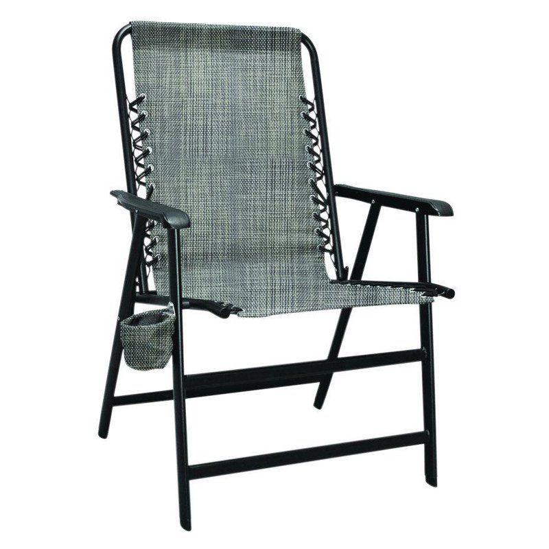 Outdoor Caravan Sports XL Suspension Folding Chair Grey - 80012100120