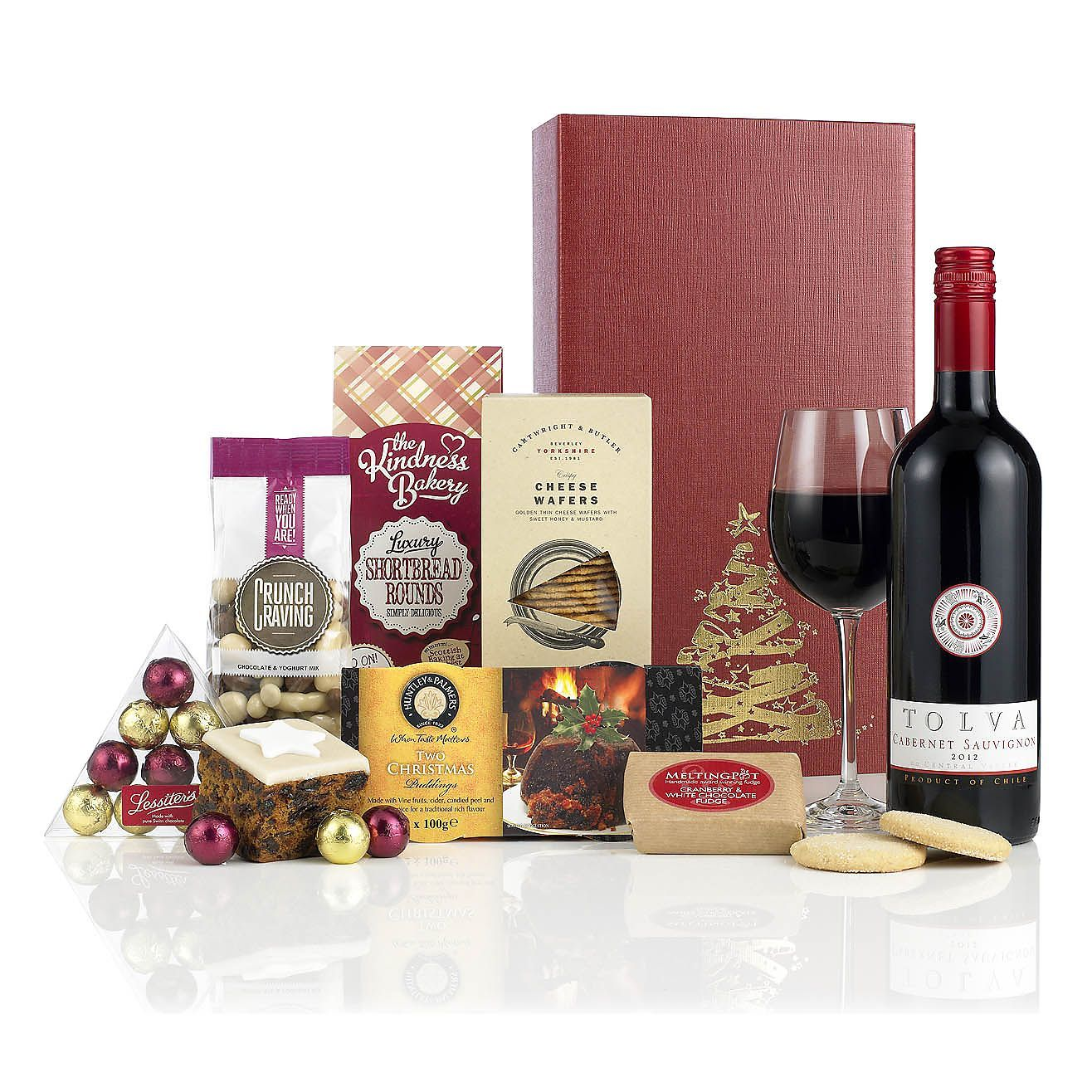 34 99 The Fir Tree Gift Hampers Client Gifts Christmas Luxury Hampers
