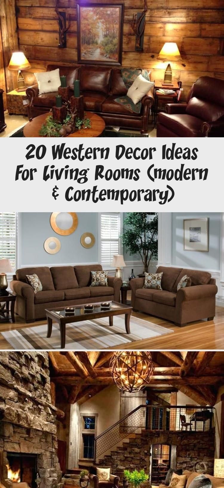 10+ Best Western Style Living Room