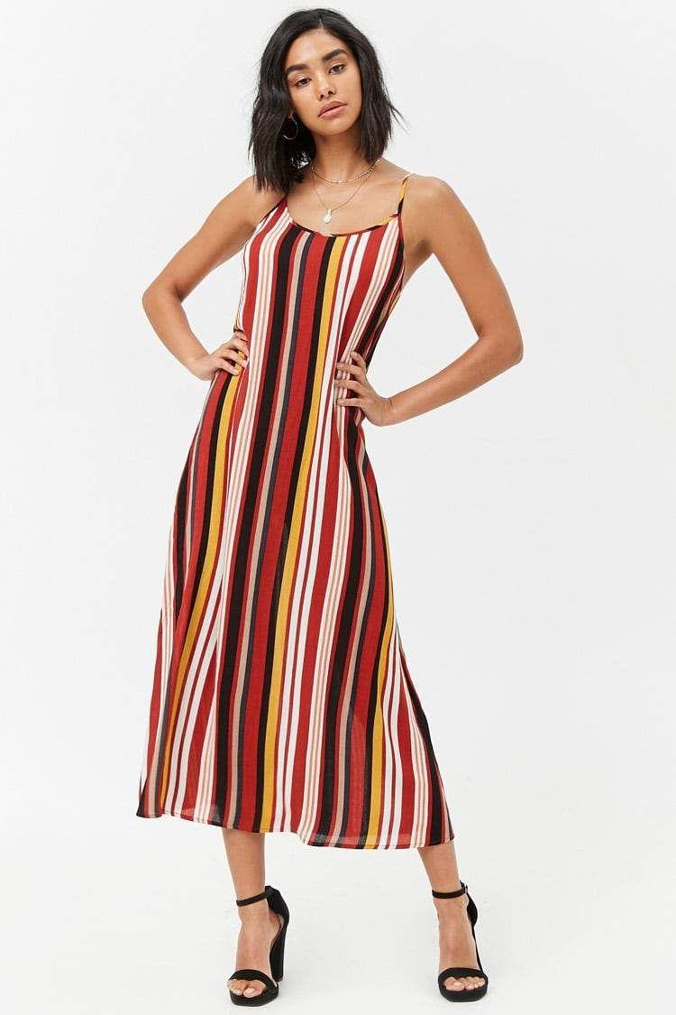 Vestido rayas con tirantes | vestiditos xd en 2019