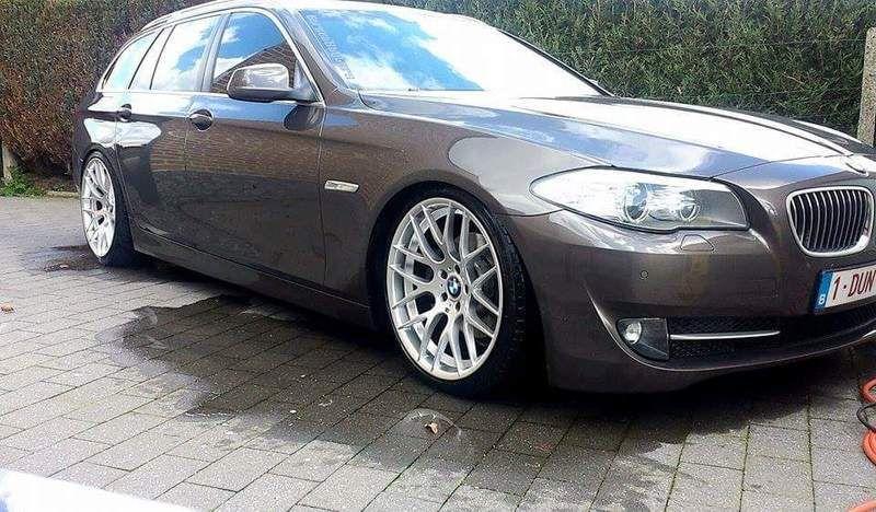 """2011 - F11 - 520D havanna brown KW V1 + 20"""" velgen p3"""