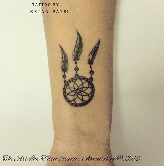a415cabf2 Dream catcher #dreamcatcher #tattoo #wrist #small #girl #inking #ink ...