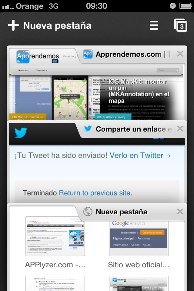 Actualización de Chrome para iOS Ios, Windows phone