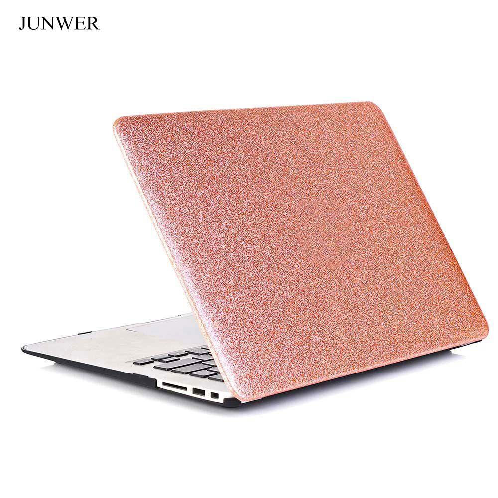Junwer 2017 New Luxury Shining Hard Case For Apple Macbook Air Pro Retina 11 12 13 3 15 Laptop Ba Apple Macbook Air Rose Gold Macbook Air Macbook Air 13 Case