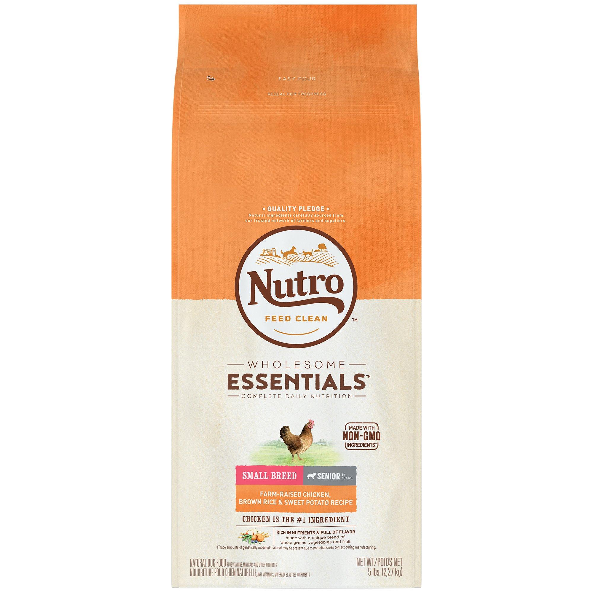 Nutro Wholesome Essentials Farm Raised Chicken Brown Rice Sweet