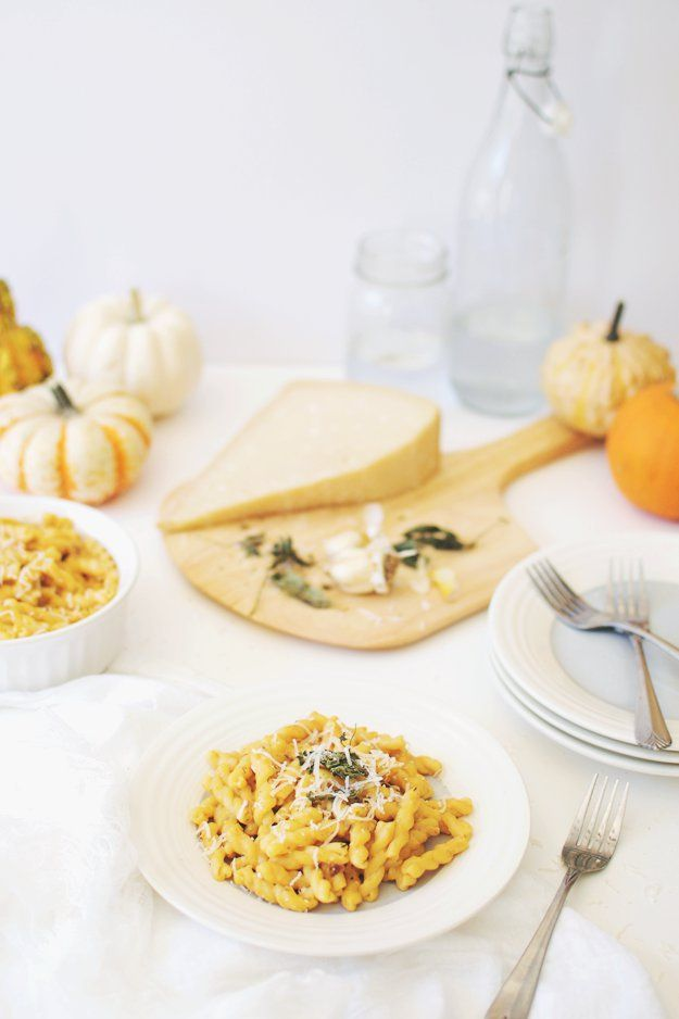 Pin for Later: You've Never Had Alfredo Pasta Quite Like This Pumpkin-y Version