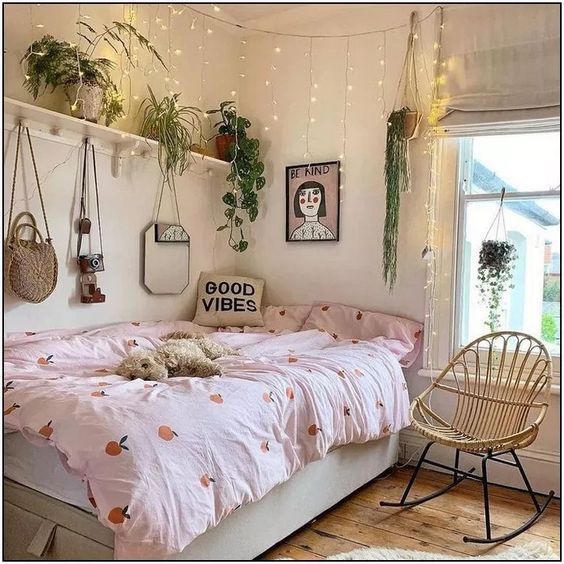 How To Make Your Small Room Look Bigger Dorm Room Decor Room Decor Aesthetic Bedroom