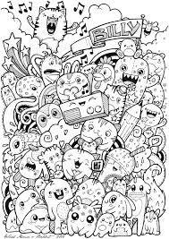 Risultati Immagini Per Disegni Carini Da Colorare Kawaii Doodles