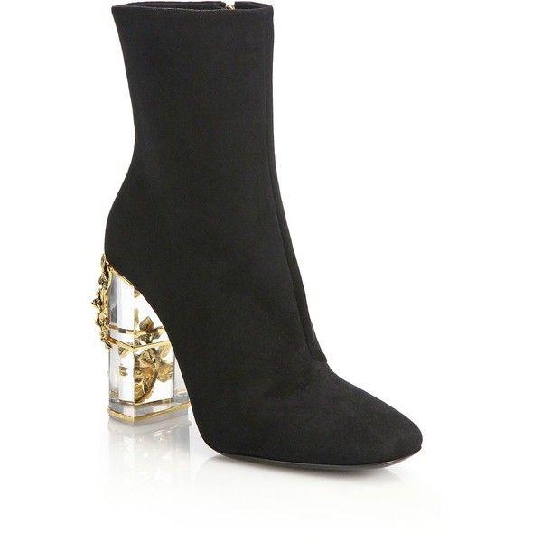 Roberto Cavalli Suede Ankle Boots jcI8vfN