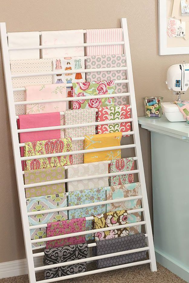 50 clever craft room organization ideas sewing notions fabric 50 clever craft room organization ideas solutioingenieria Images