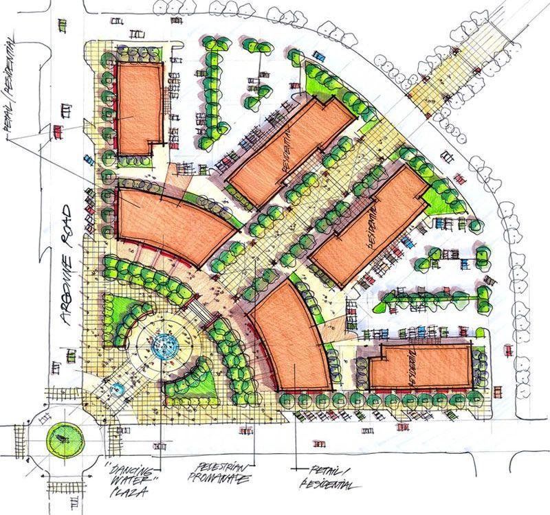 Concept design image | Architecture Diagram | Urban design plan