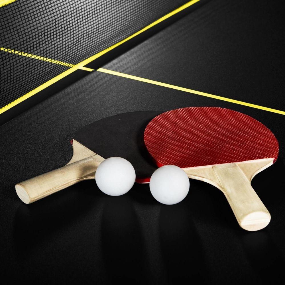 Ping Pong Table Tennis Folding Tournament Size Game Set