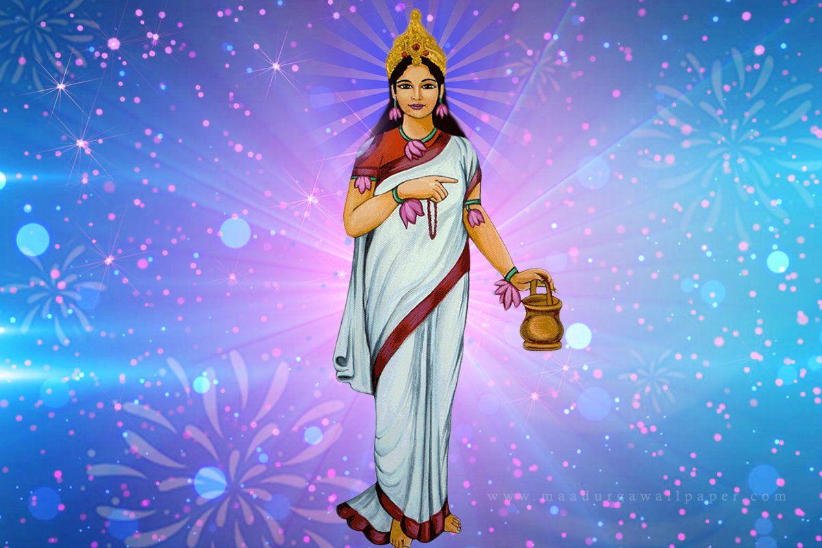 mata brahmacharini hd images - second navratri devi goddess