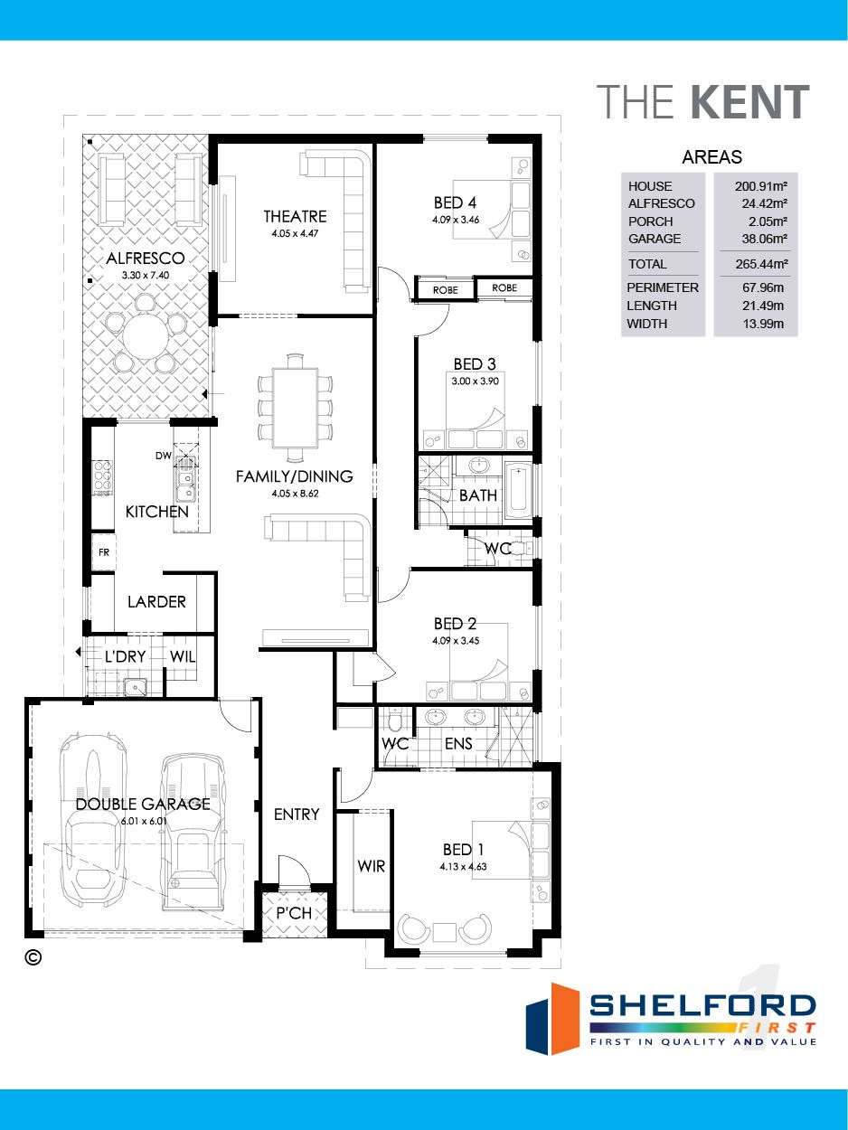 Kent Floorplan Shelford First Homes 4 Bedroom House Plans Bedroom House Plans Floor Plans